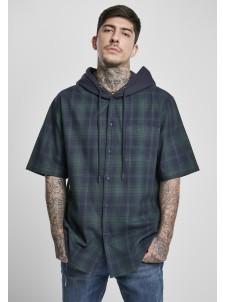 Koszula Hooded Short Sleeve Navy