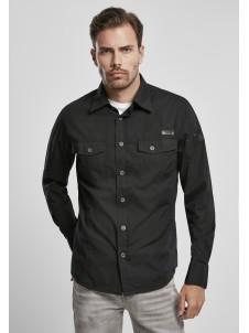 Koszula Slim Worker Shirt Black