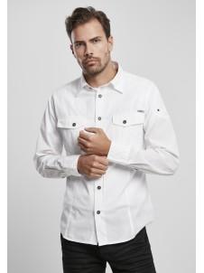 Koszula Slim Worker Shirt White