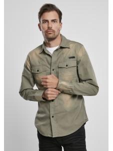 Koszula Hardee Denim Shirt Olive Grey