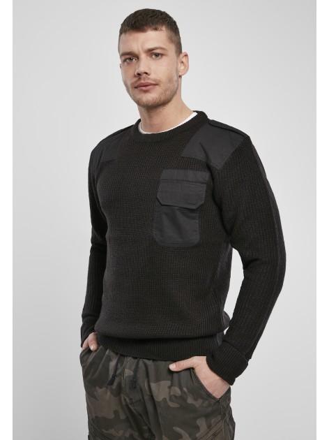 Military Sweater Black