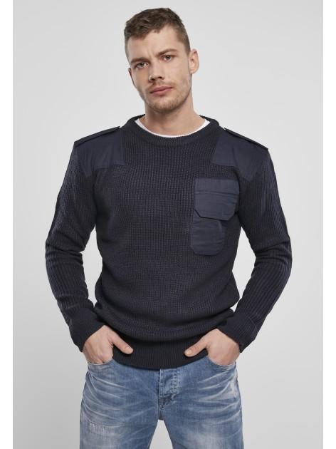 Military Sweater Navy