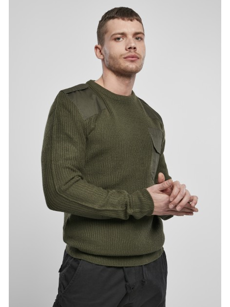 Military Sweater Olive