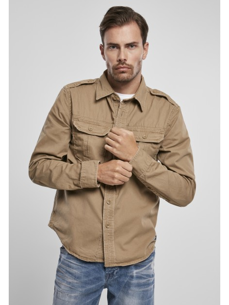Koszula Vintage Shirt Camel