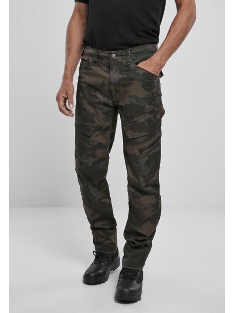 Spodnie Bojówki Adven Slim Fit Cargo Darkcamo
