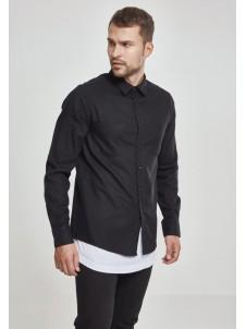 Koszula Flanelowa Checked Flanell Shirt Black