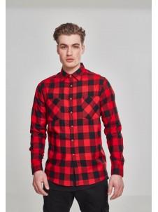Koszula Flanelowa Checked Flanell Shirt Black/Red