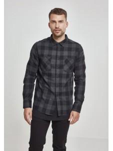 Koszula Flanelowa Checked Flanell Shirt Black/Charcoal