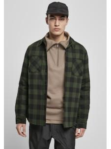 Kurtka Koszula Padded Check Flannel Black/Forest