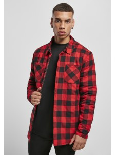 Plaid Quilted Shirt Red/Black