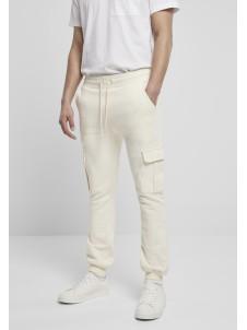 Spodnie Dresowe Cargo Whitesand