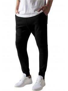 Spodnie Dresowe Pleat Black