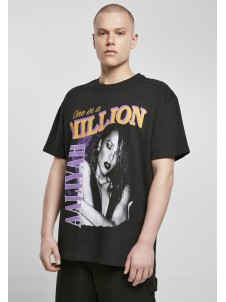 T-shirt Aaliyah One In A Million Oversize Black