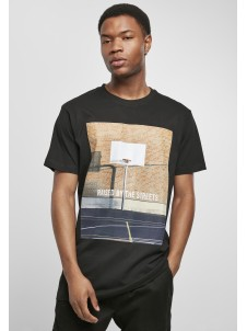 T-shirt Raised By The Streets Black