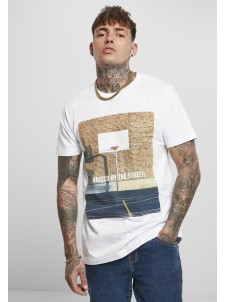 T-shirt Raised By The Streets White