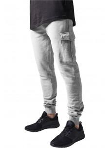 Spodnie Dresowe Fitted Cargo Grey