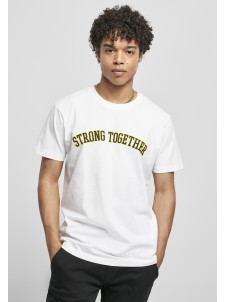 T-shirt Strong Together White