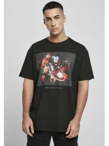 T-shirt Renairssance Painting Oversize Black
