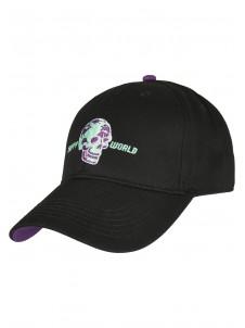 Czapka Snapback Trippy Skull Black