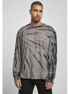 Longsleeve Boxy Tye Dye Black/Asphalt