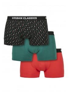 Bokserki Organic X-Mas Boxer Shorts 3-Pack