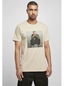T-shirt Tupac Sitting Pose Sand