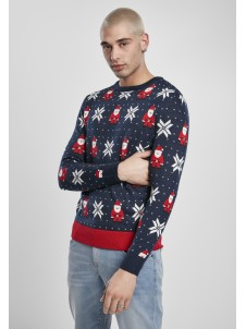 Sweter Nicolaus Snowflake Navy