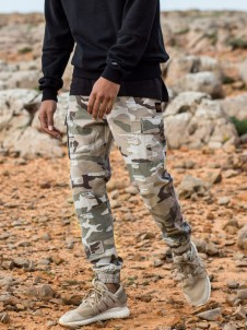 Doomed Distressed Jogger Camo