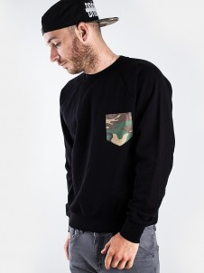 Camo Pocket Black
