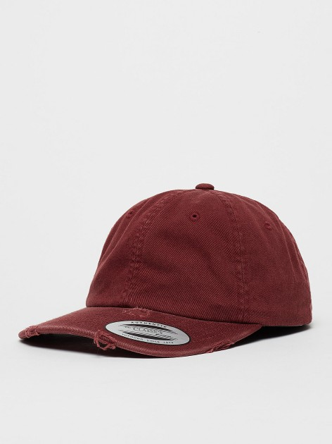 6245 DC Low Profile Destroyed Maroon