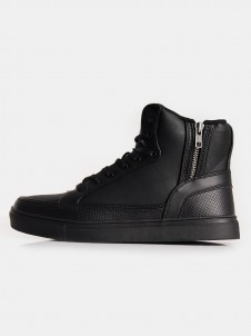 TB 1271 Zipper High Black