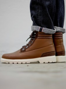 TB 1293 Winter Boots Brown/Dark Brown