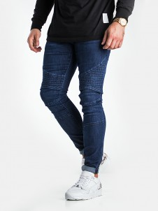 TB 1436 Slim Biker Dark Blue