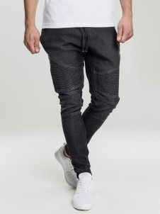TB 1877 Biker Denim Black Washed