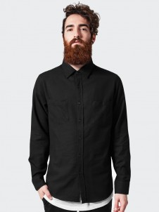 Checked Flanell TB 297 Black/Forest