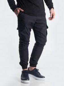Jogger Cargo Label Black