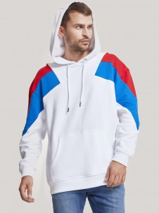 TB 2402 Oversize 3-Tone White/Firered