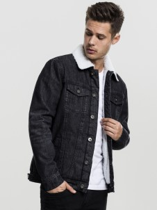 TB 1796 Sherpa Denim Black Washed