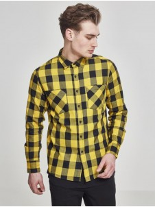 Checked Flanell TB 297 Black/Yellow