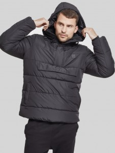 TB 2424 Pull Over Puffer Black