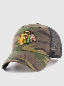 Chicago Blackhawks MVP Trucker Camo