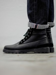TB 1293 Winter Boots Black