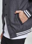 TB 2420 Oldschool College Jacket 2.0 Charcoal