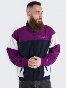 Full Zip Top Purple/Black