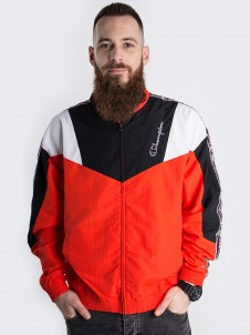 Full Zip Black/Red