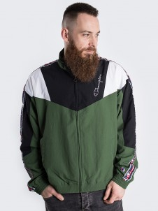 Full Zip Black/Green