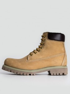 Brixton Cow Nubuck Yellow