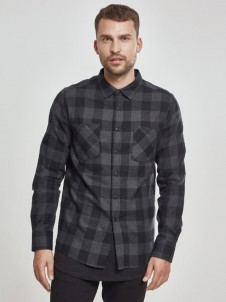Checked Flanell TB297 Black/Charcoal