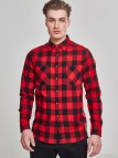 Checked Flanell TB 297 Black/Red