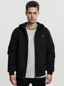 TB 1805 Hooded Cotton Black